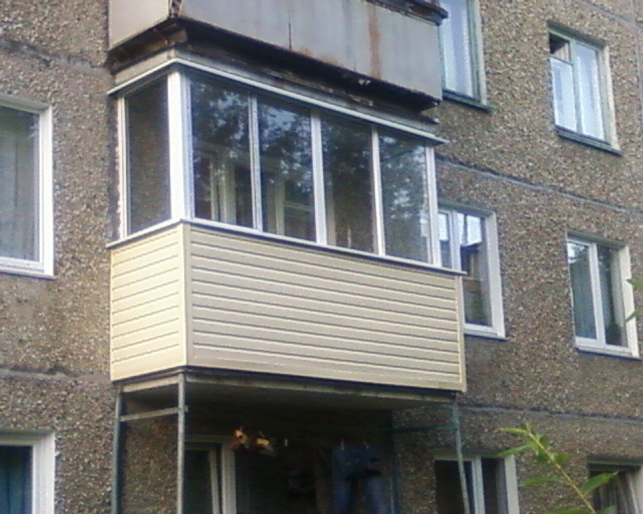 Как закрыть балкон снаружи. - дизайнерские решения - каталог.